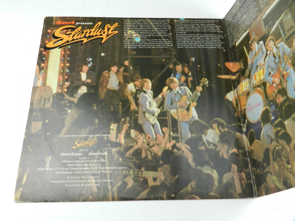Various – Stardust 44 Original Hits From The Sound Track Of The Film vinyl record sleeve gatefold 1 scaled