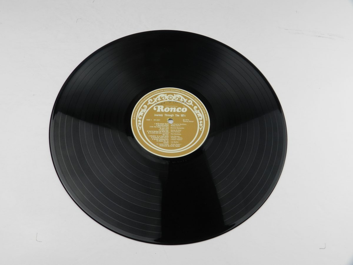 Various – Journey Through The 60s vinyl record side A scaled