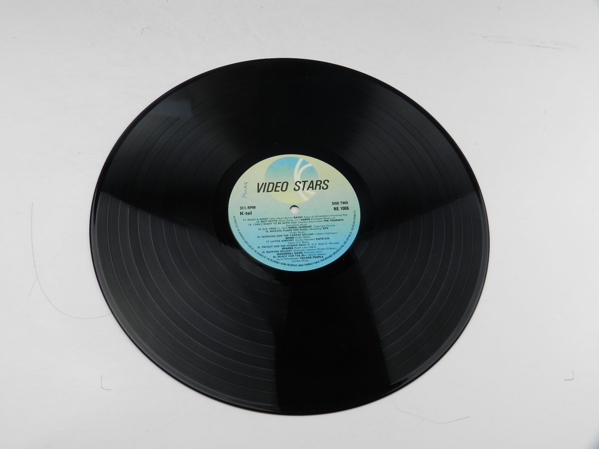 Various – Video Stars vinyl record side B scaled