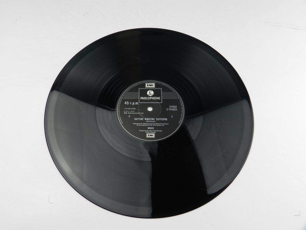 Wings – Goodnight Tonight vinyl record side B scaled