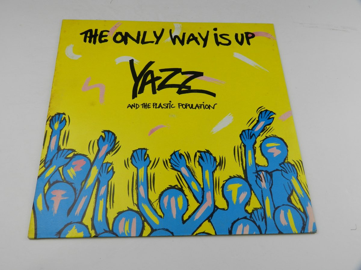 Yazz And The Plastic Population – The Only Way Is Up vinyl record sleeve scaled