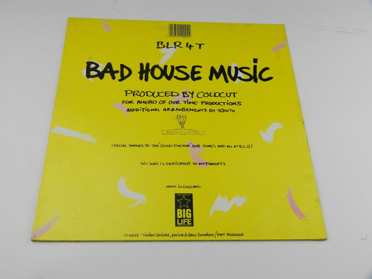 Yazz And The Plastic Population – The Only Way Is Up vinyl record sleeve rear scaled