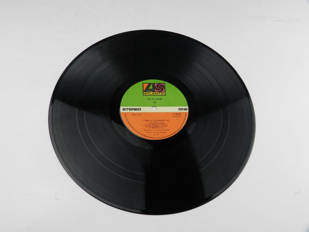 Yes – The Yes Album vinyl record side A scaled