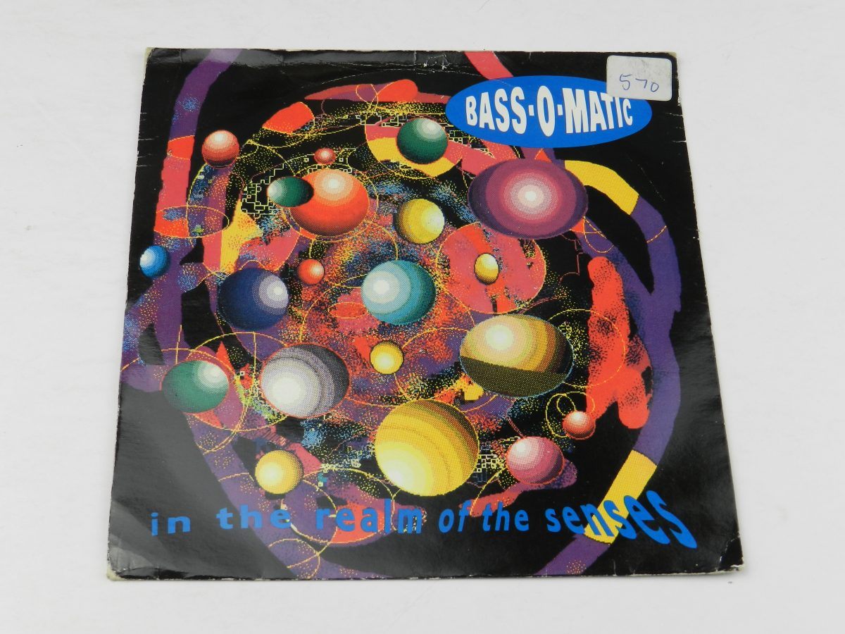 Bassomatic – In The Realm Of The Senses vinyl record sleeve scaled