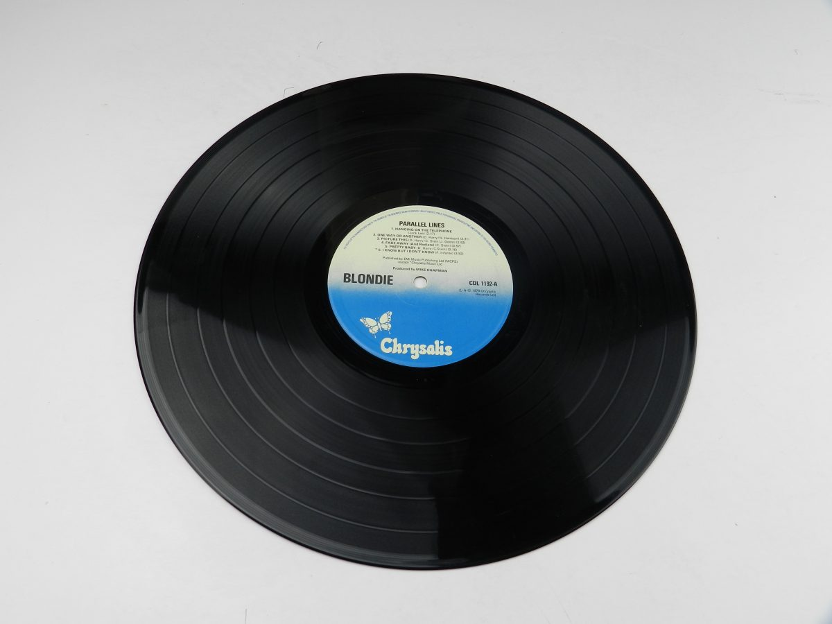 Blondie – Parallel Lines vinyl record side A scaled