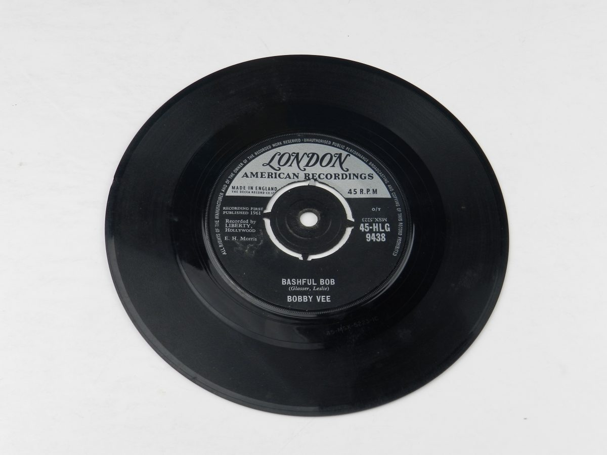 Bobby Vee – Take Good Care Of My Baby vinyl record side B scaled