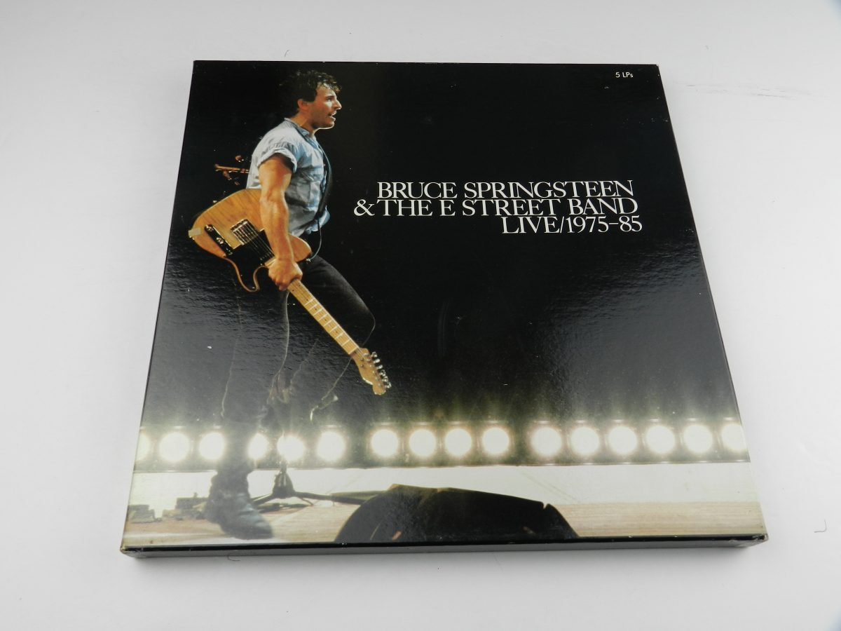Bruce Springsteen The E Street Band – Live 1975 85 vinyl record box scaled
