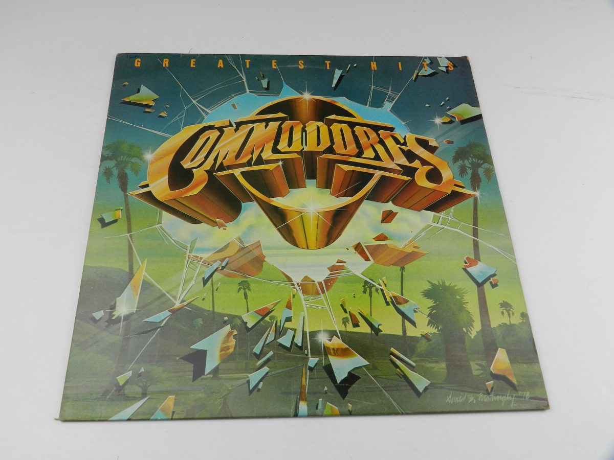 Commodores – Greatest Hits vinyl record sleeve scaled