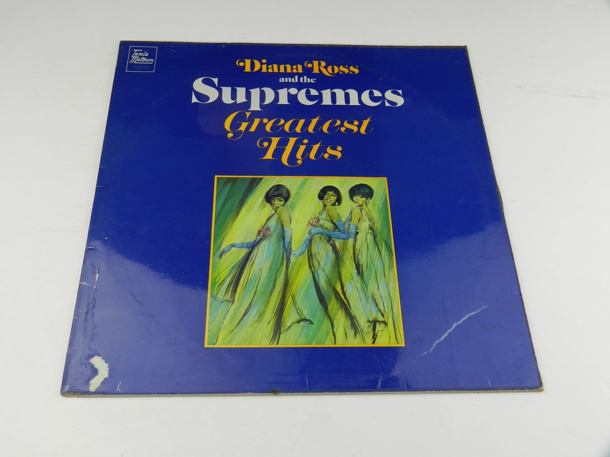 Diana Ross And The Supremes – Greatest Hits vinyl record sleeve scaled