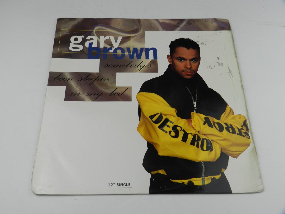 Gary Brown – Somebodys Been Sleepin In My Bed vinyl record sleeve scaled