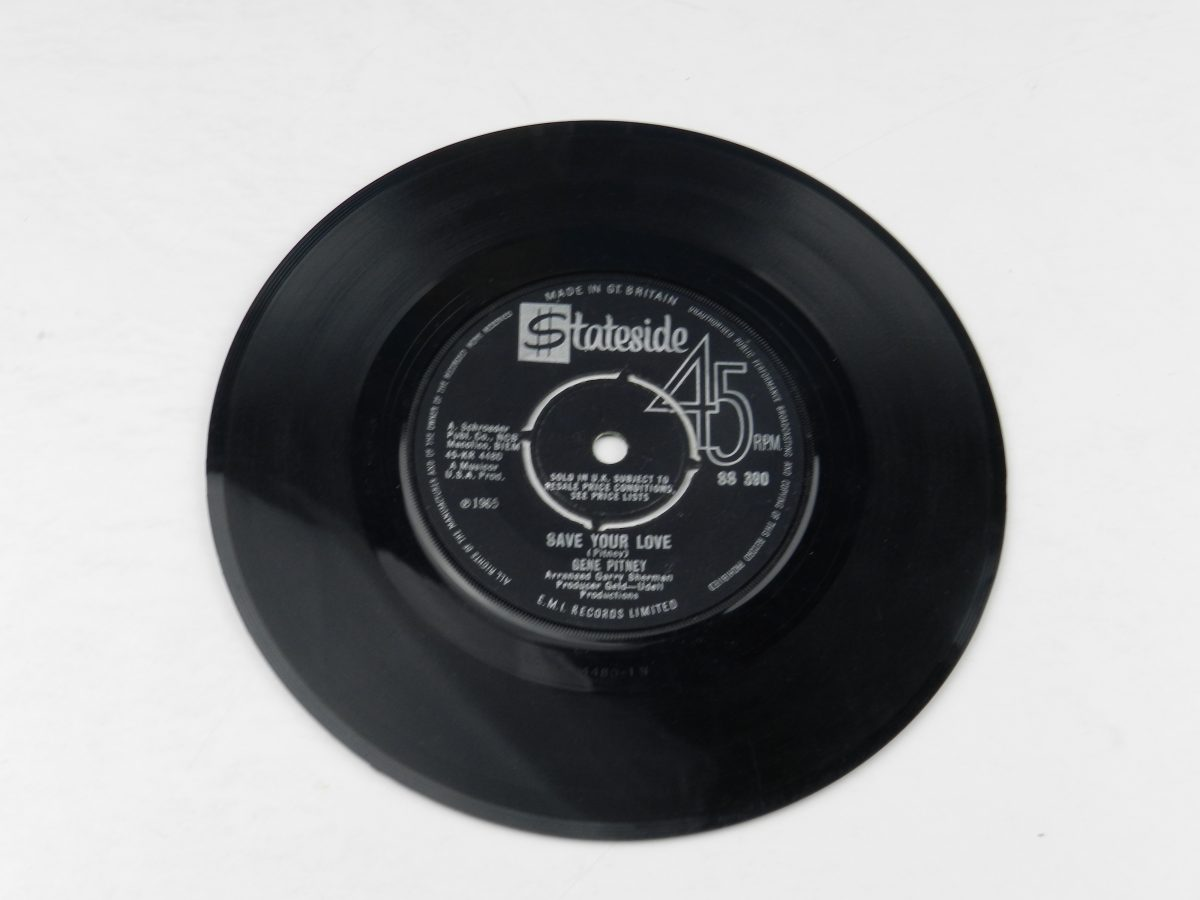 Gene Pitney – I Must Be Seeing Things vinyl record side B scaled