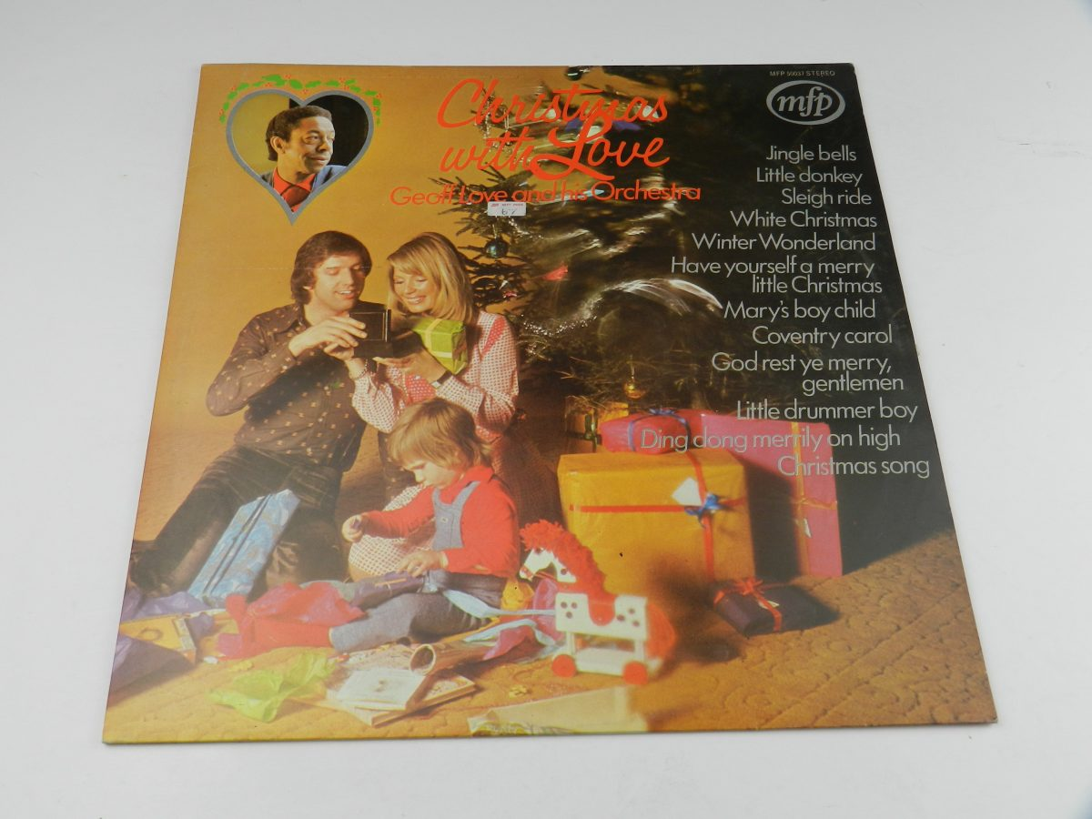 Geoff Love And His Orchestra – Christmas With Love vinyl record sleeve scaled