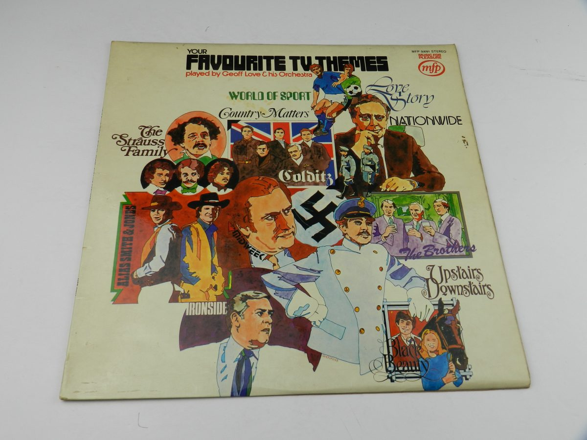 Geoff Love His Orchestra – Your Favourite T.V. Themes vinyl record sleeve scaled
