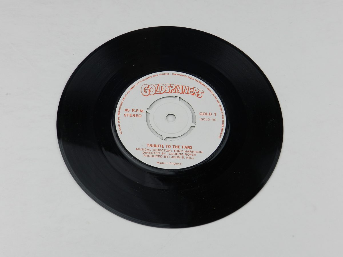 George Roper and Pipedream – Manchester United vinyl record side B scaled