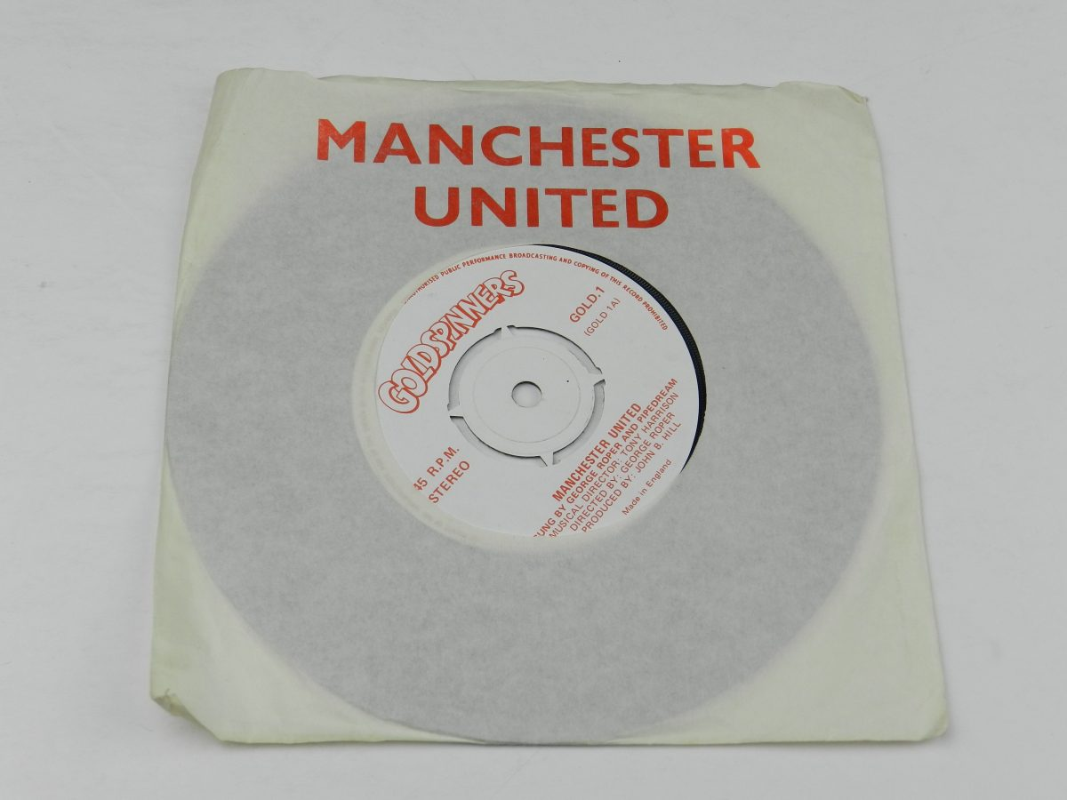 George Roper and Pipedream – Manchester United vinyl record sleeve scaled