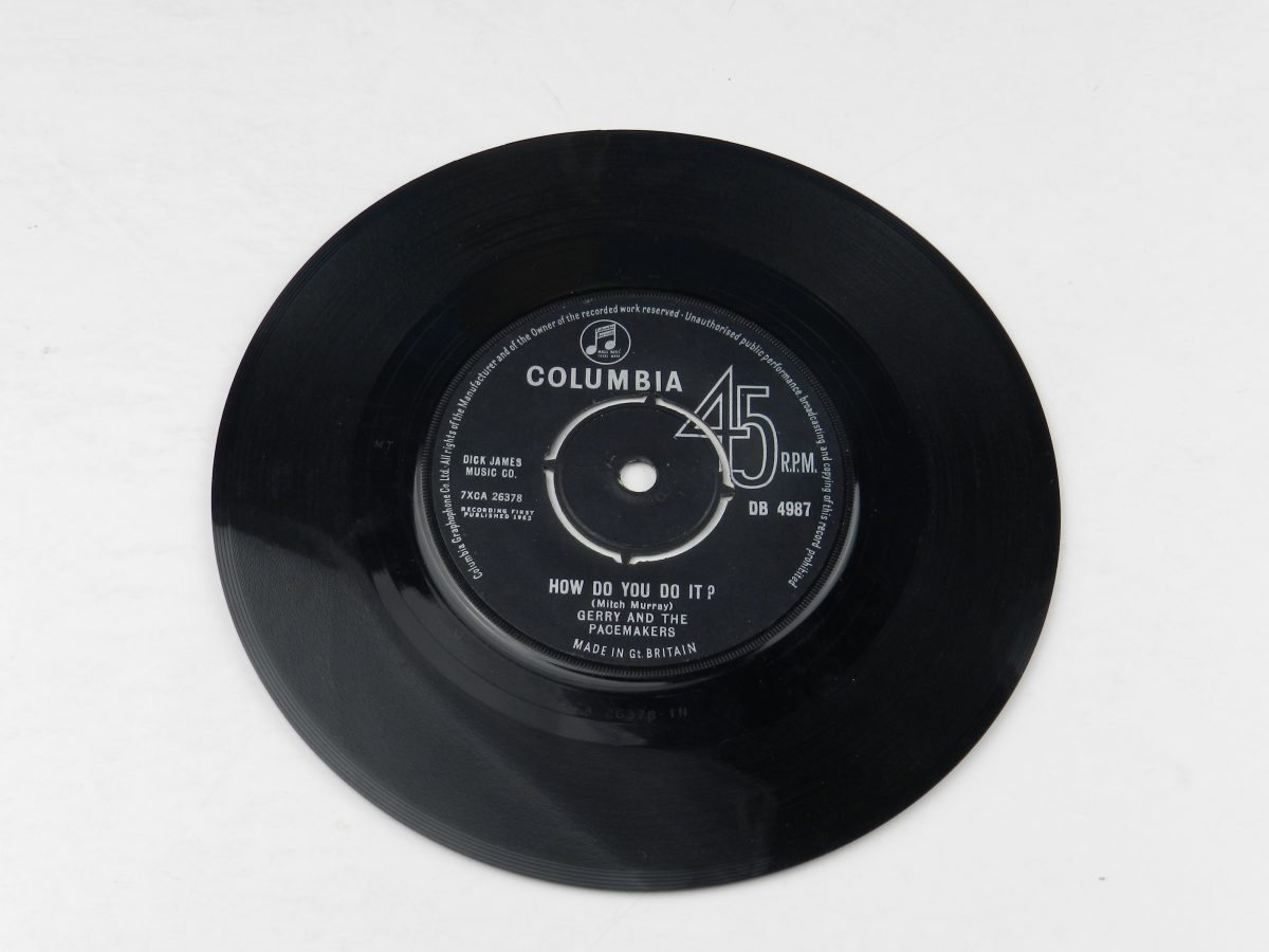 Gerry And The Pacemakers – How Do You Do It vimyl record side A scaled