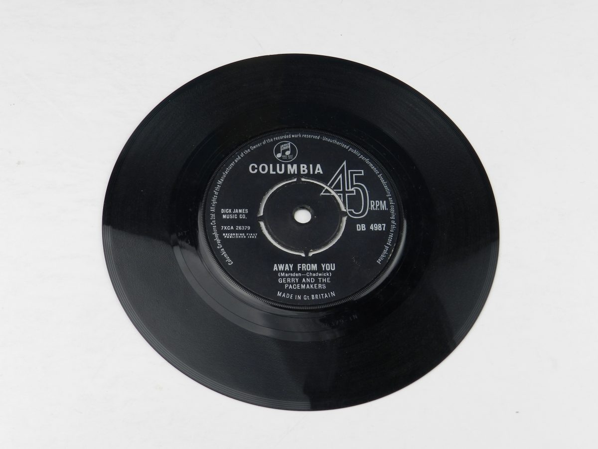Gerry And The Pacemakers – How Do You Do It vimyl record side B scaled