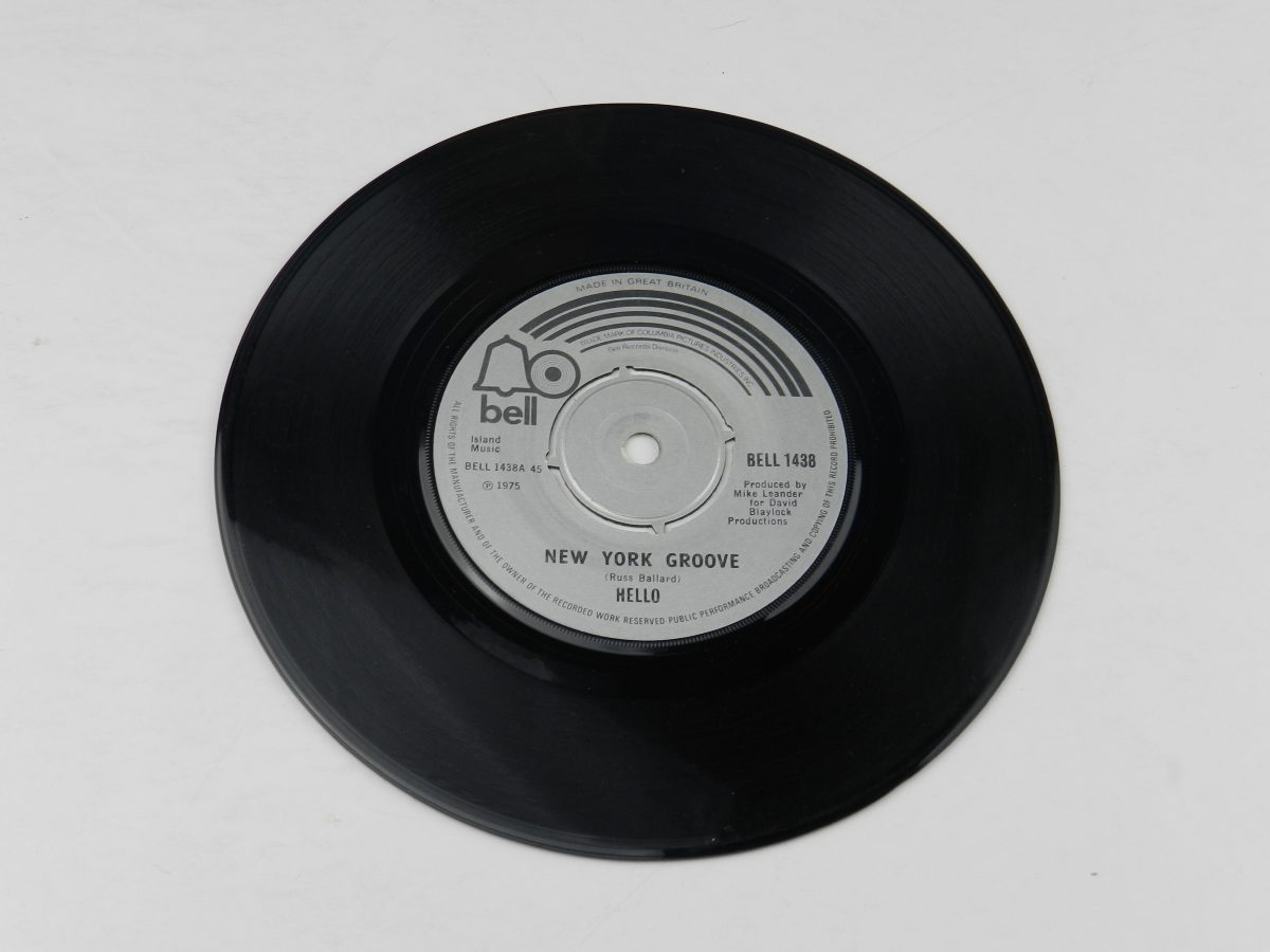 Hello – New York Groove vinyl record side A scaled