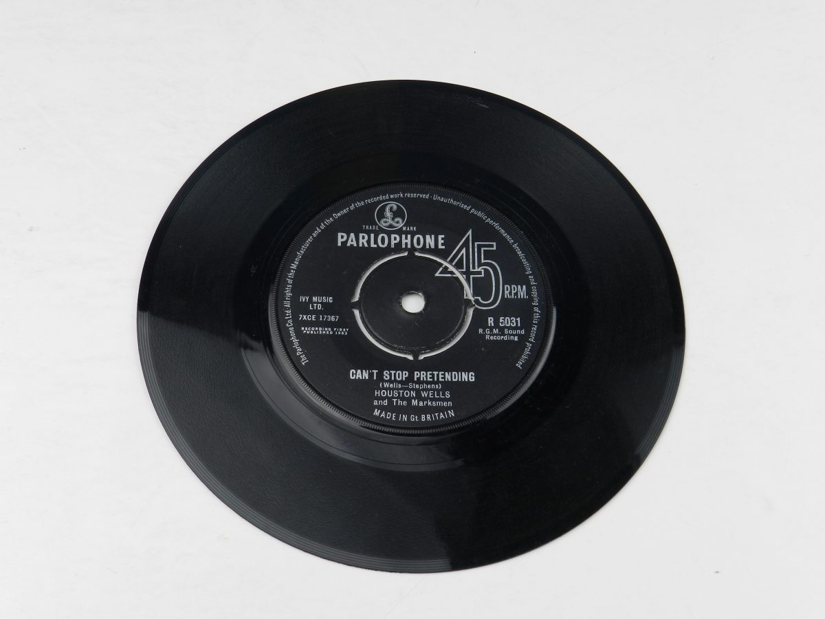 Houston Wells And The Marksmen – Only The Heartaches vinyl record side B scaled