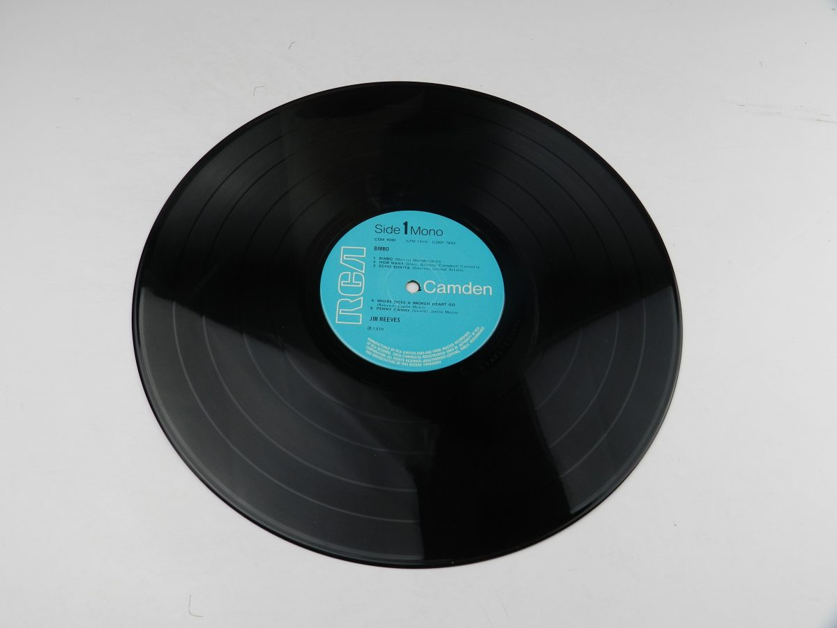Jim Reeves – Bimbo vinyl record side A scaled