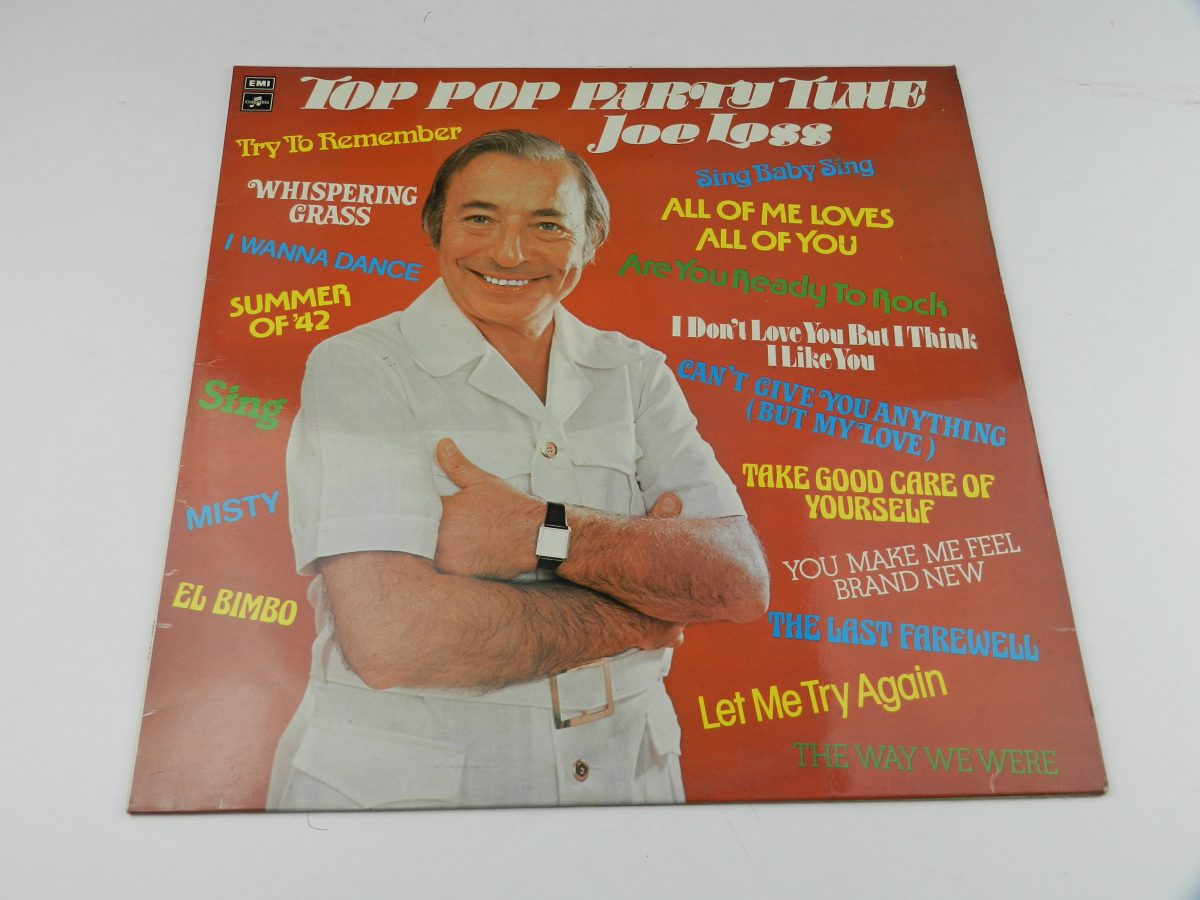 Joe Loss – Top Pop Party Time vinyl record sleeve scaled
