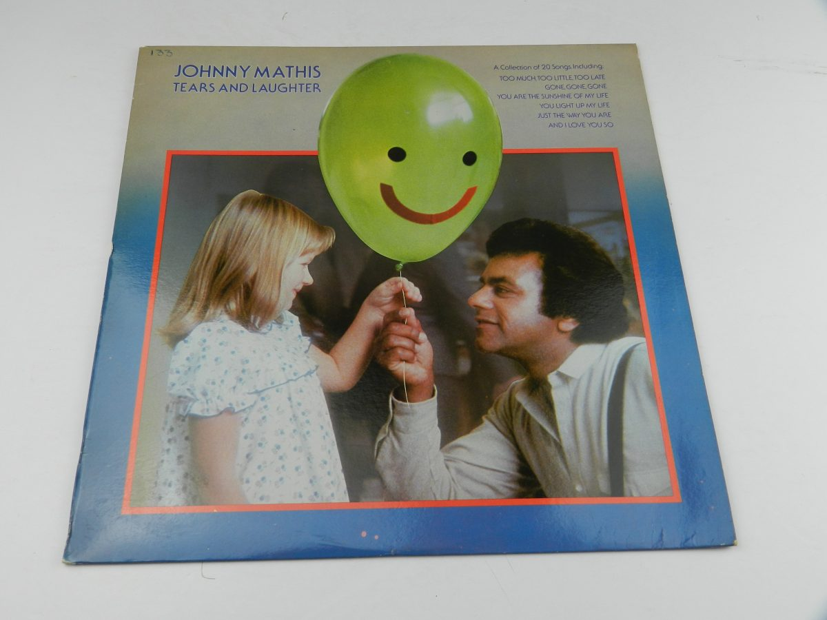 Johnny Mathis – Tears And Laughter vinyl record sleeve scaled