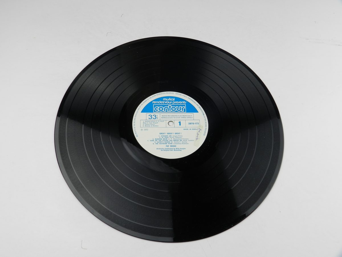 Pat Boone – Great Great Great vinyl record side A scaled