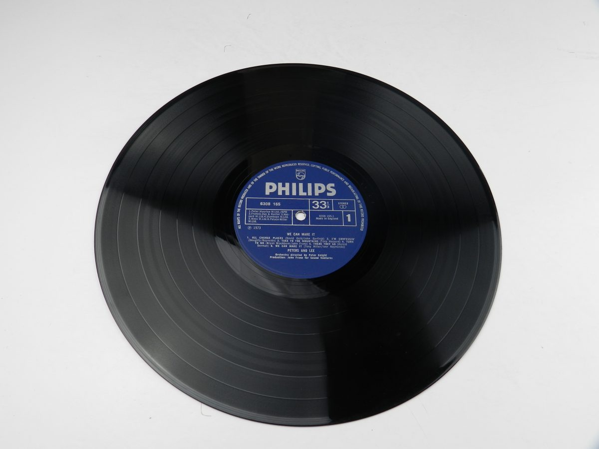 Peters Lee – We Can Make It vinyl record side A scaled
