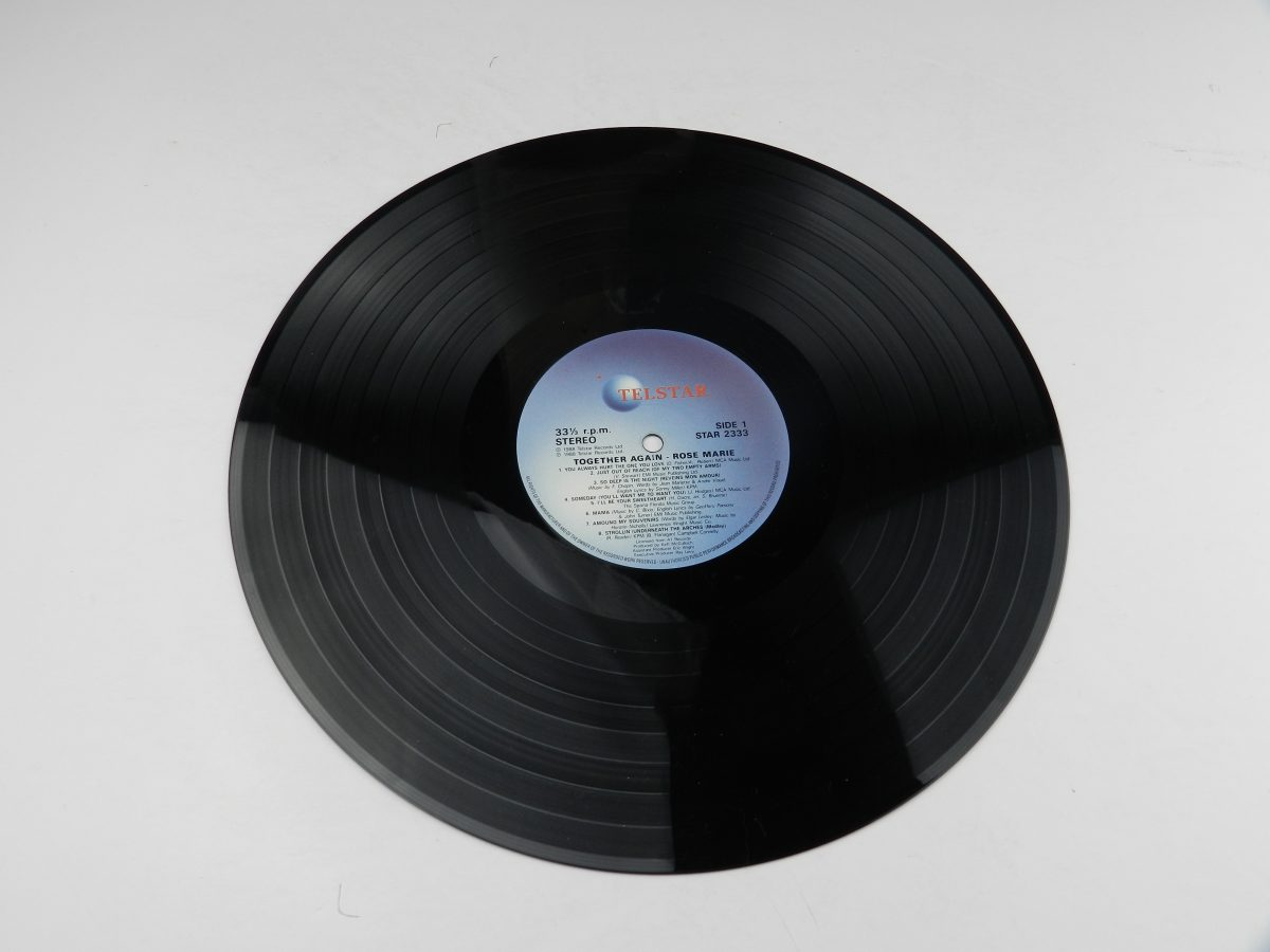 Rose • Marie – Together Again vinyl record side A scaled