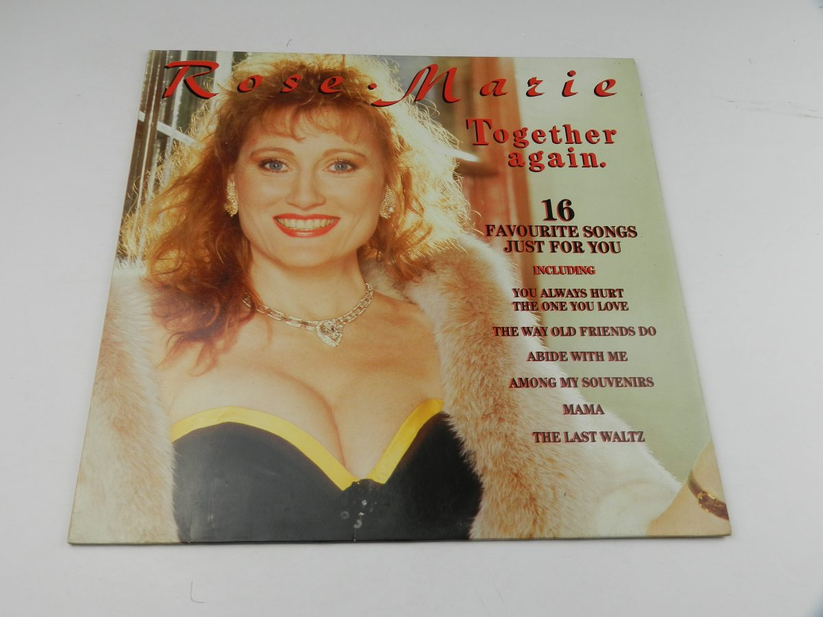 Rose • Marie – Together Again vinyl record sleeve scaled