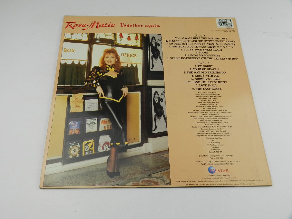 Rose • Marie – Together Again vinyl record sleeve rear scaled