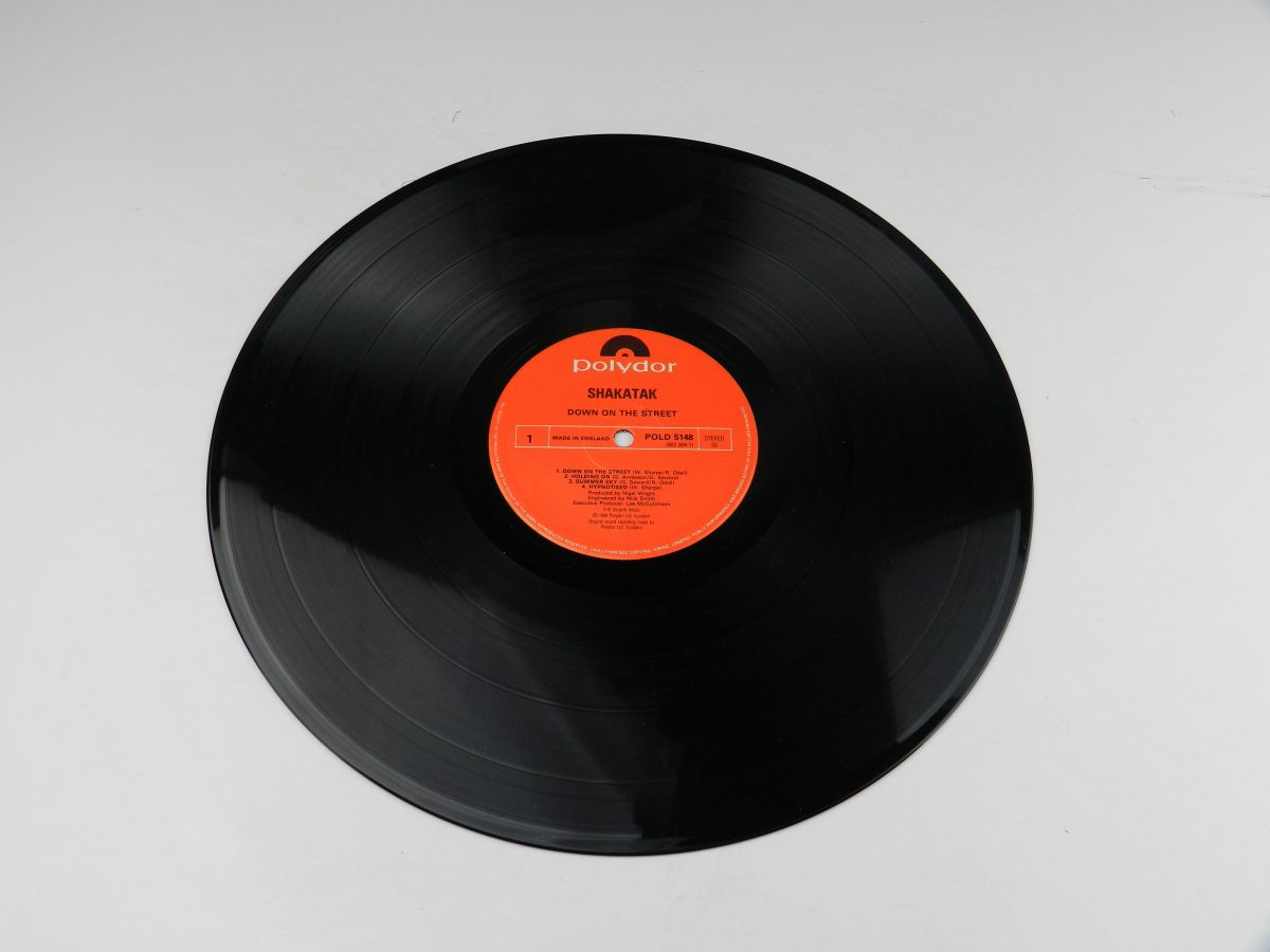 Shakatak – Down On The Street vinyl record side A scaled