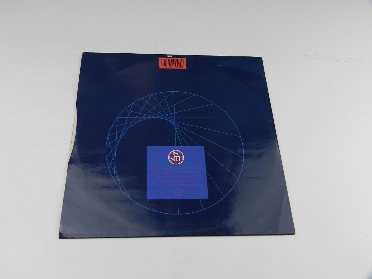 Simple Minds – Promised You A Miracle Book Of Brilliant Things Simple Minds Live vinyl record sleeve rear scaled