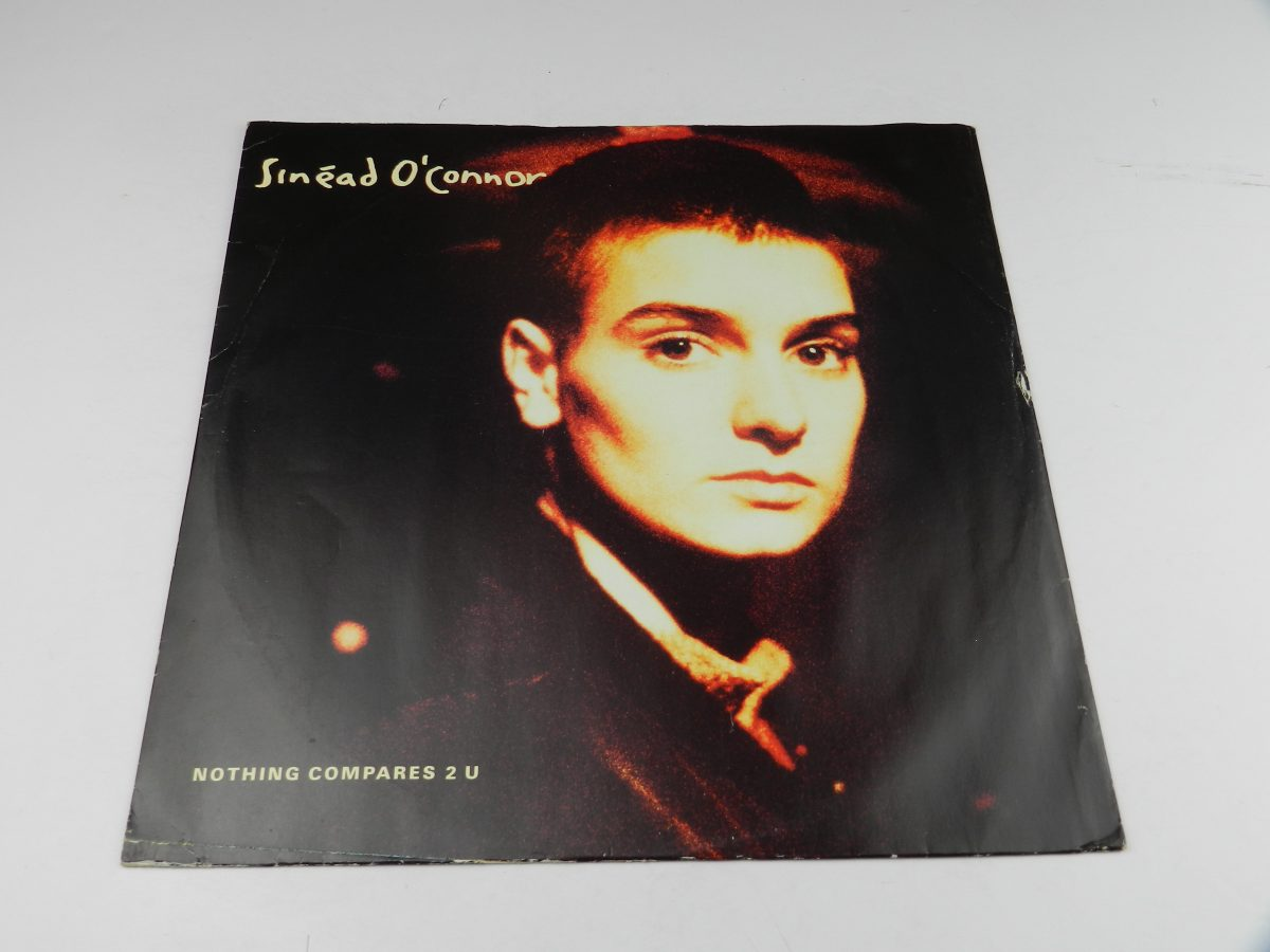 Sinead OConnor – Nothing Compares 2 U vinyl record sleeve scaled