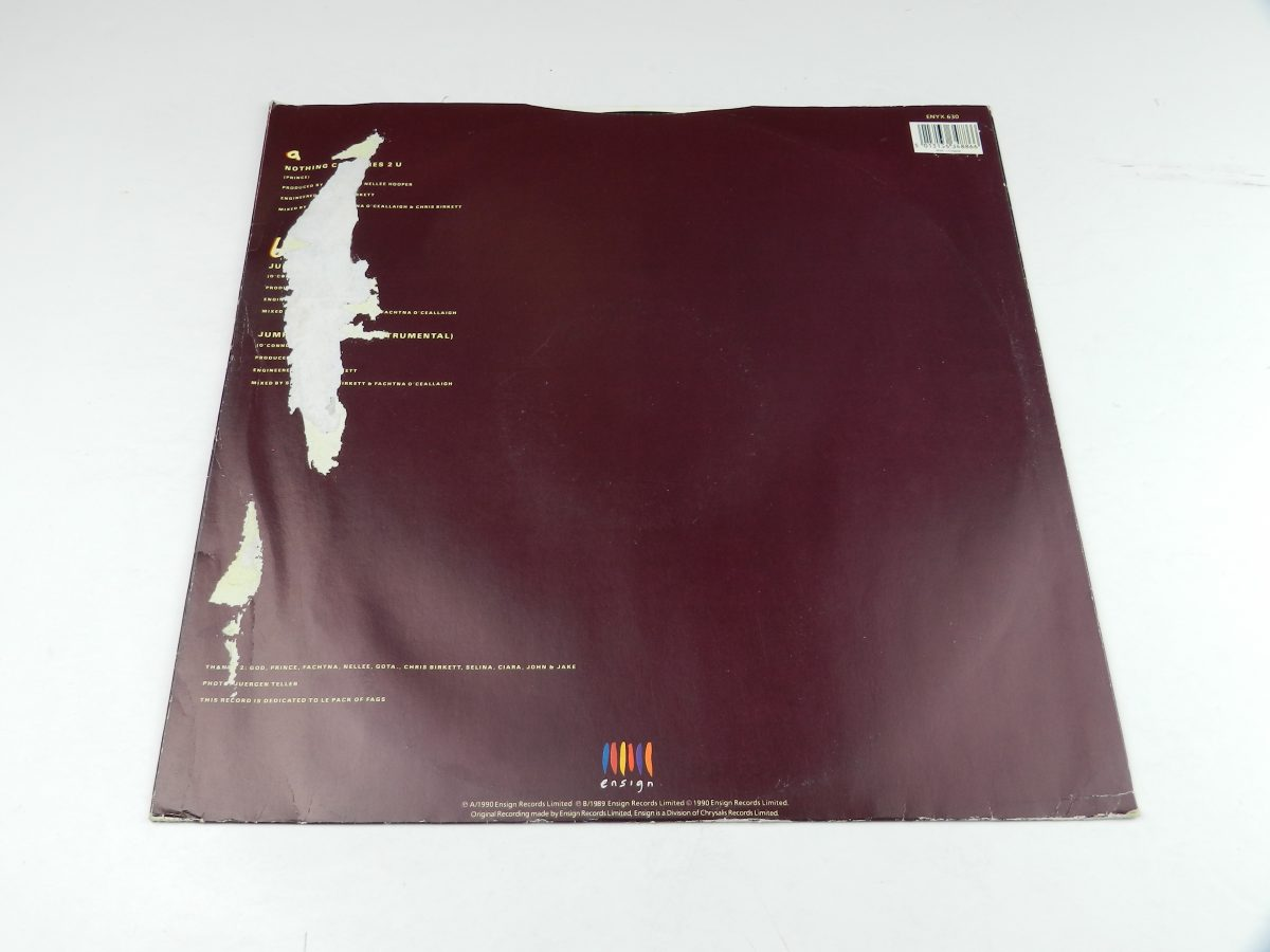 Sinead OConnor – Nothing Compares 2 U vinyl record sleeve rear scaled