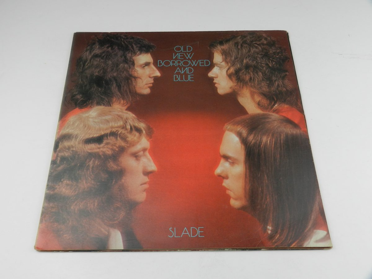 Slade – Old New Borrowed And Blue vinyl record sleeve scaled