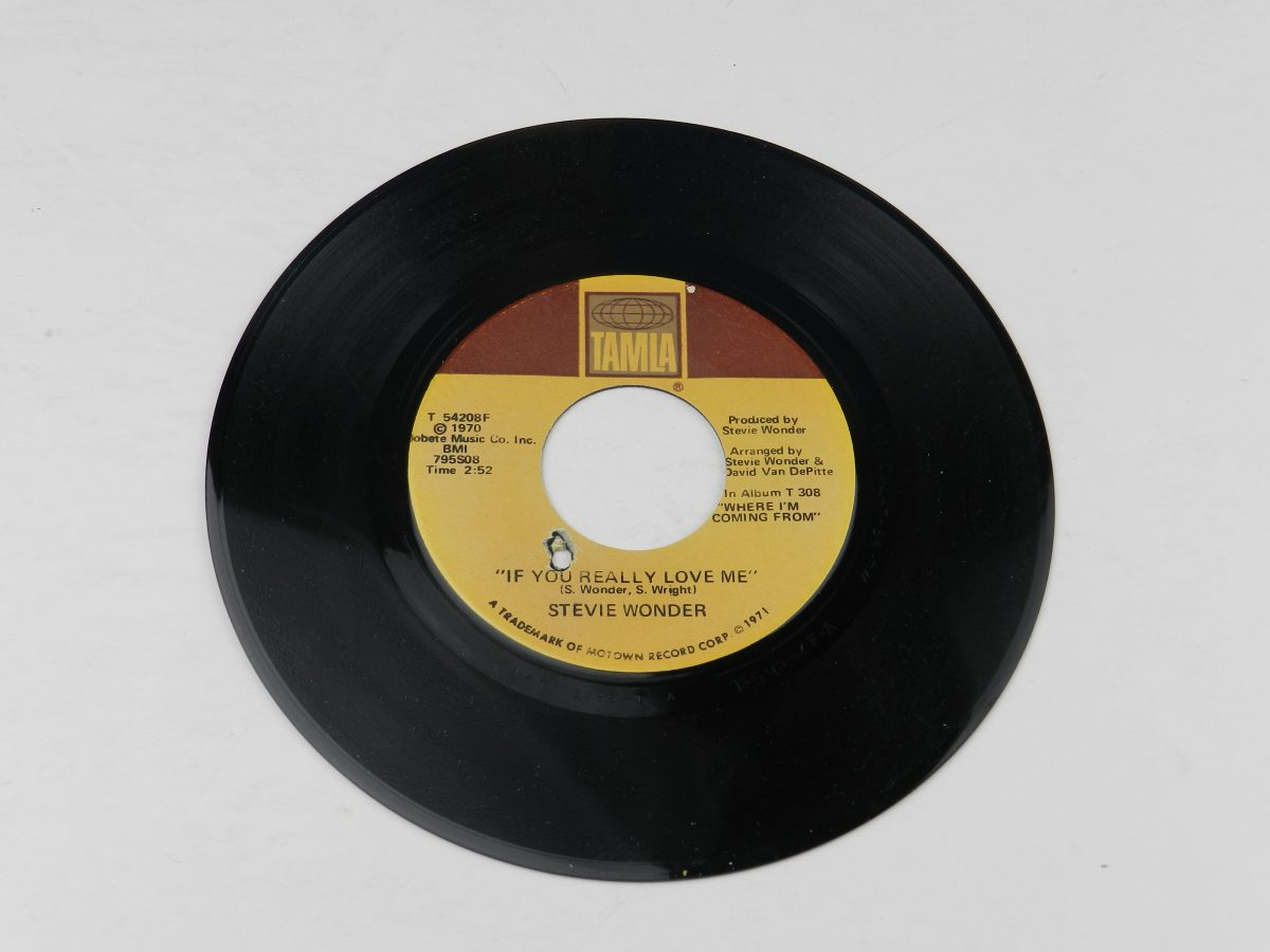 Stevie Wonder – If You Really Love Me Think Of Me As Your Soldier vinyl record side A scaled