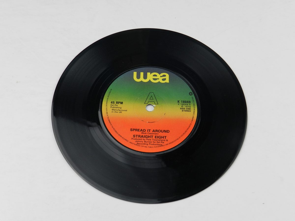 Straight Eight – Spread It Around vinyl record side A scaled