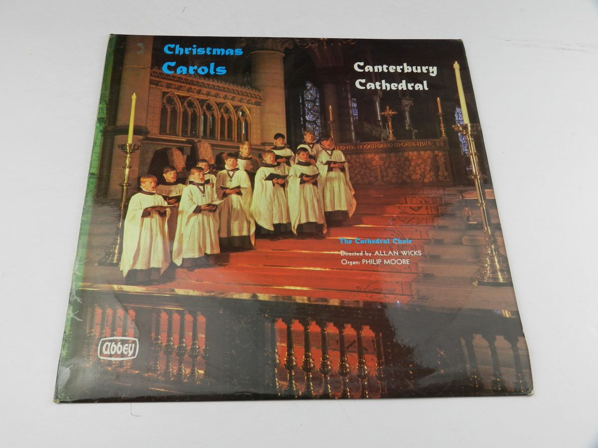 The Cathedral Choir – Christmas Carols At Canterbury Cathedra vinyl record sleeve scaled
