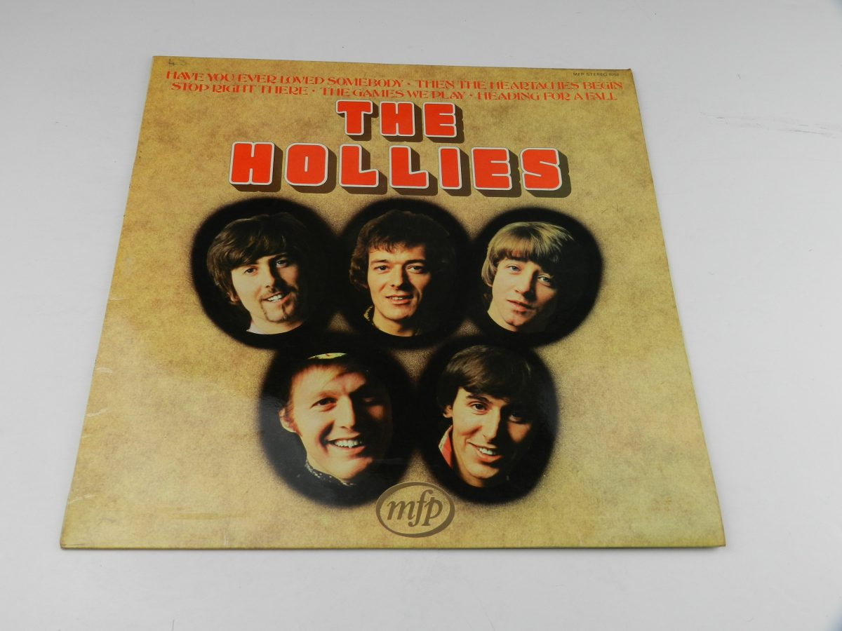 The Hollies – The Hollies vinyl record sleeve scaled