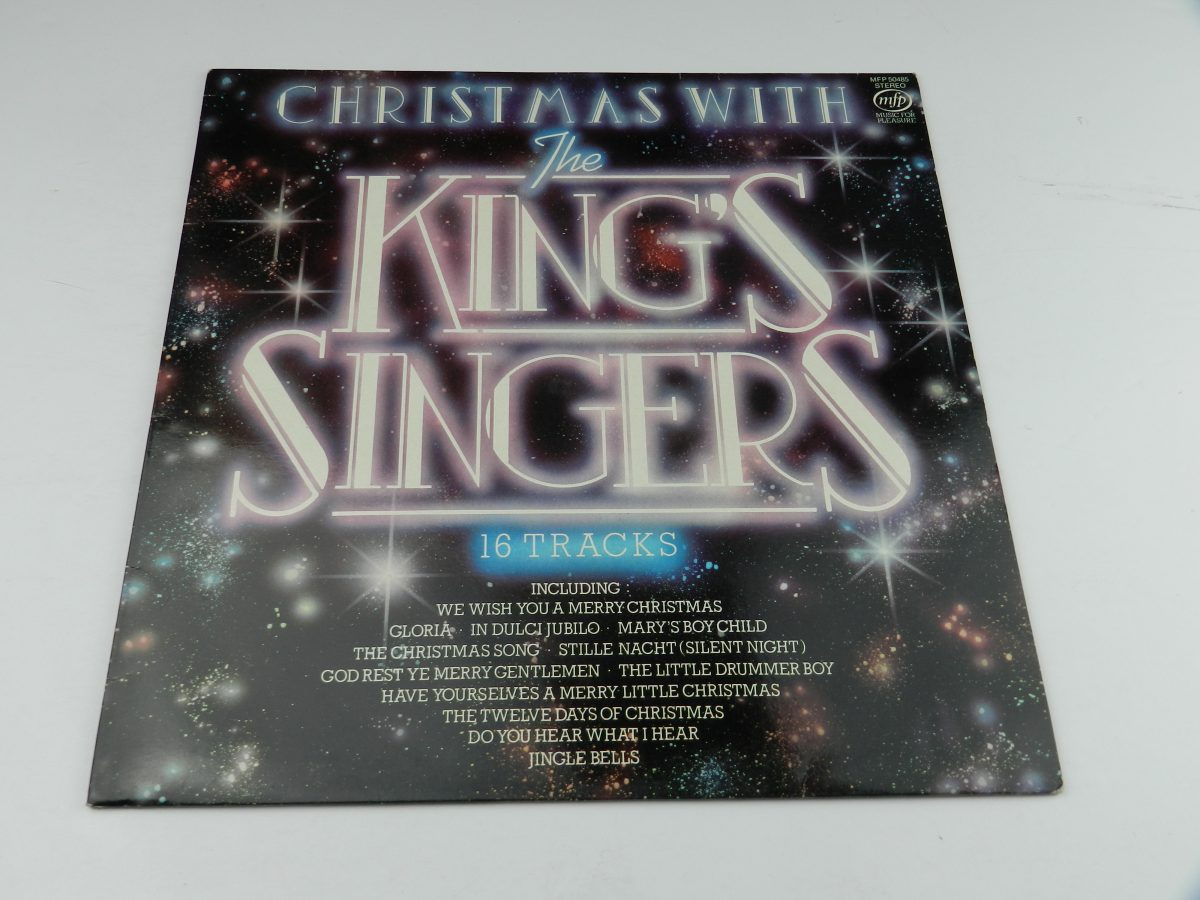 The Kings Singers – Christmas With The Kings Singers vinyl record sleeve scaled
