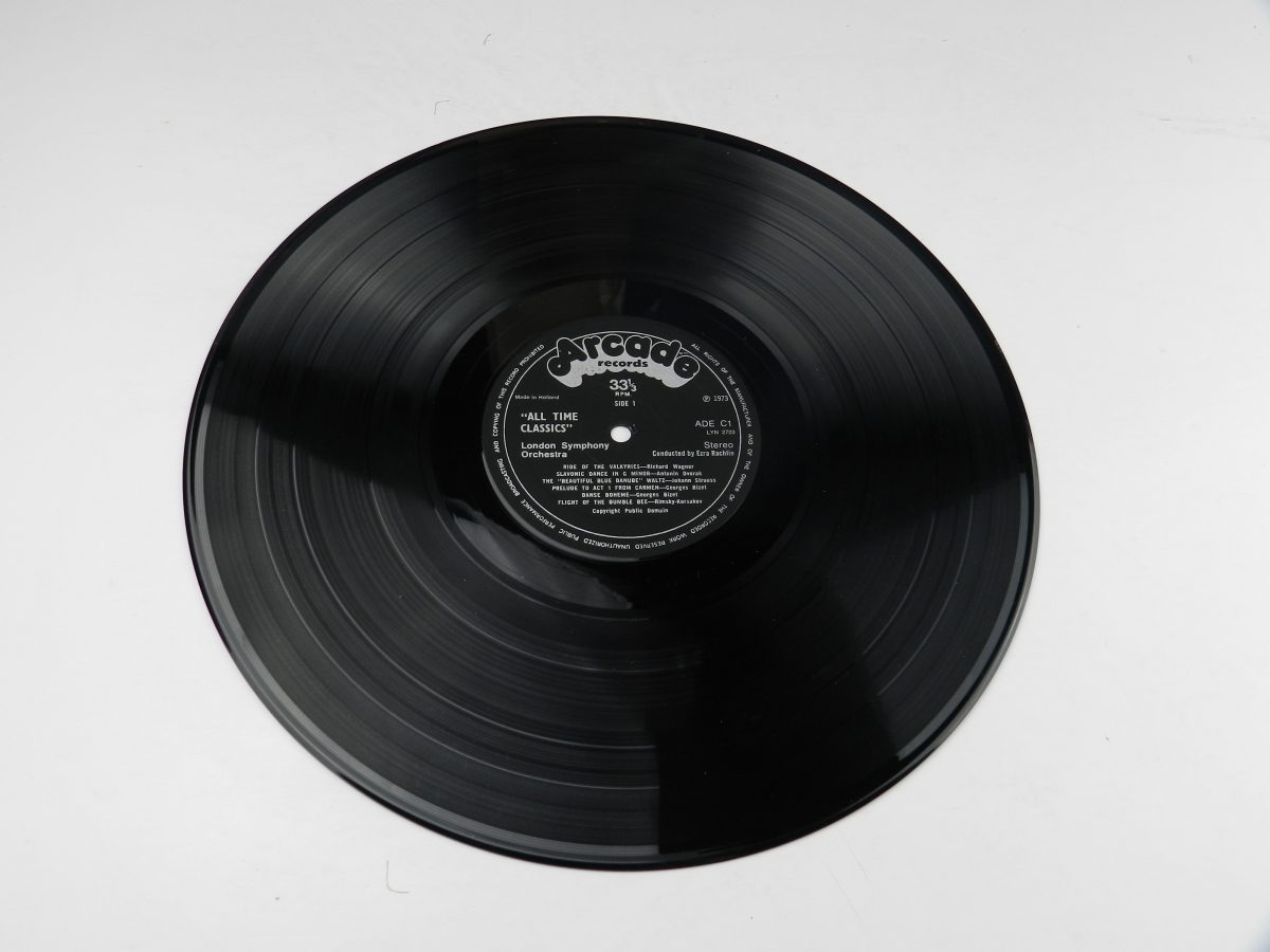The London Symphony Orchestra Conducted By Ezra Rachlin – All Time Classics vinyl record side A scaled