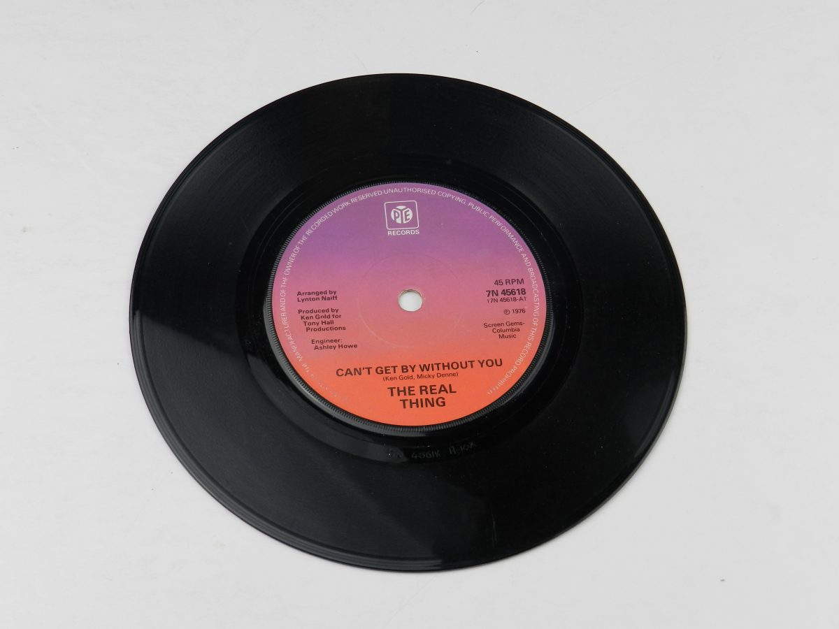 The Real Thing – Cant Get By Without You vinyl record side A scaled