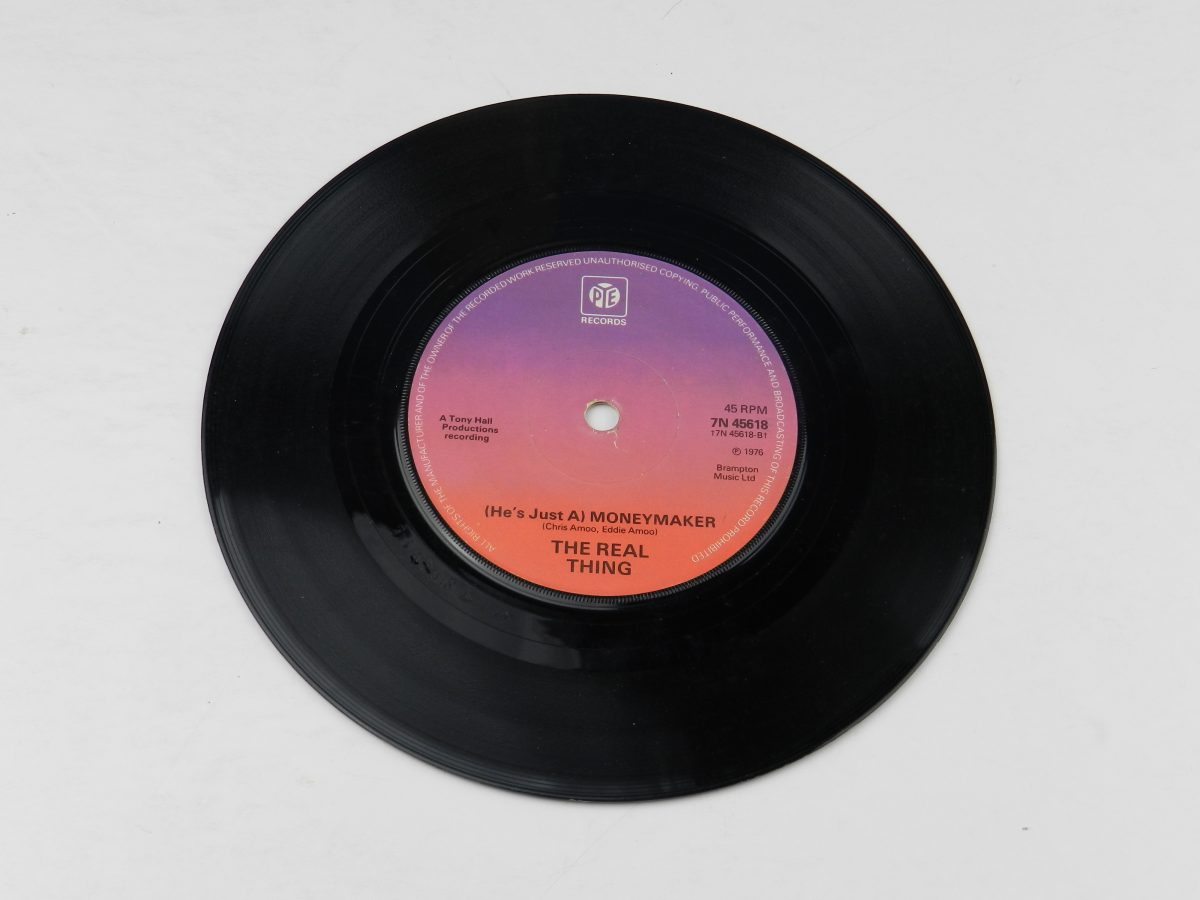 The Real Thing – Cant Get By Without You vinyl record side B scaled