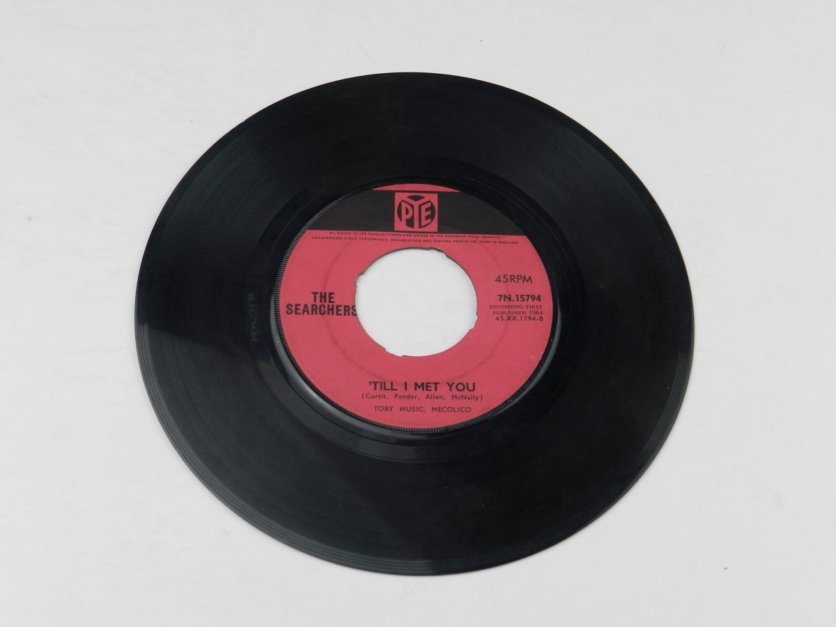 The Searchers – Goodbye My Love vinyl record side B scaled