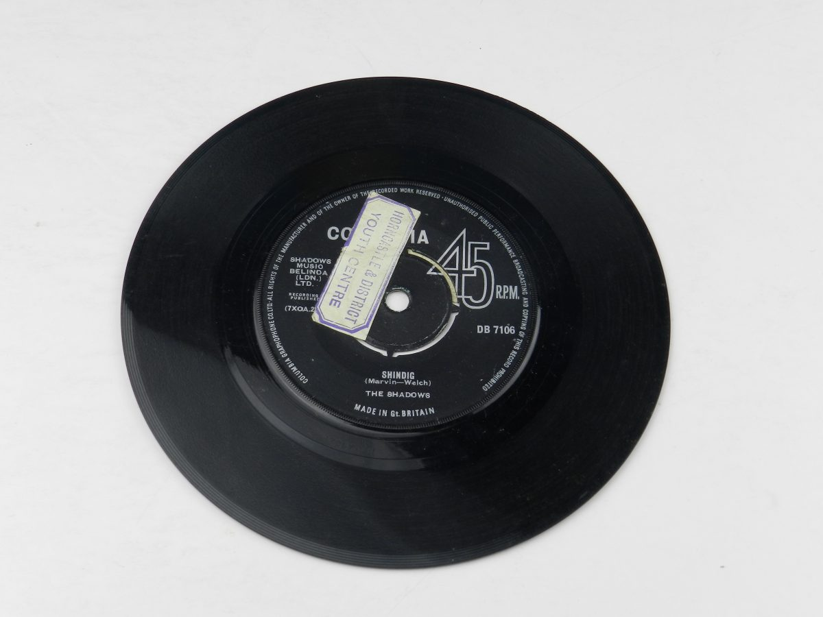The Shadows – Shindig vinyl record side A scaled