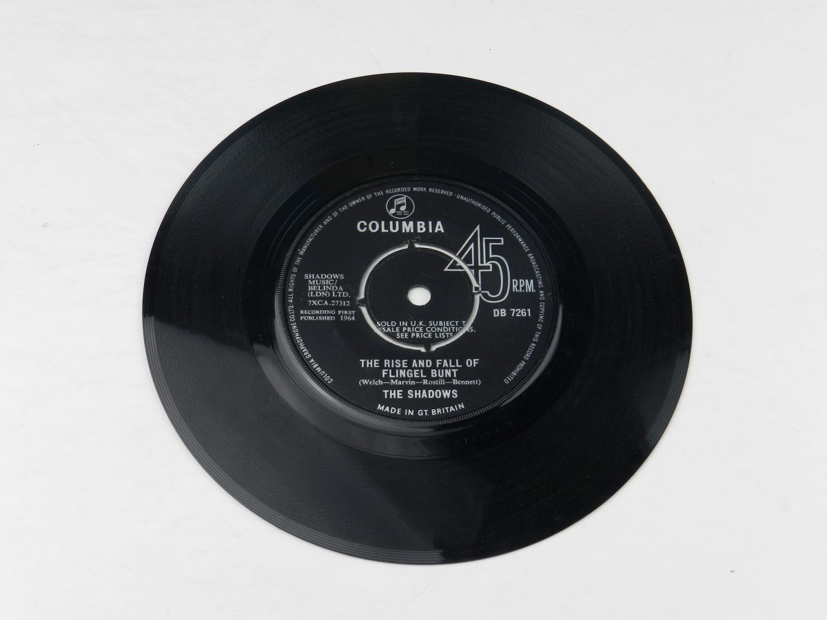 The Shadows – The Rise And Fall Of Flingel Bunt vinyl record side A scaled