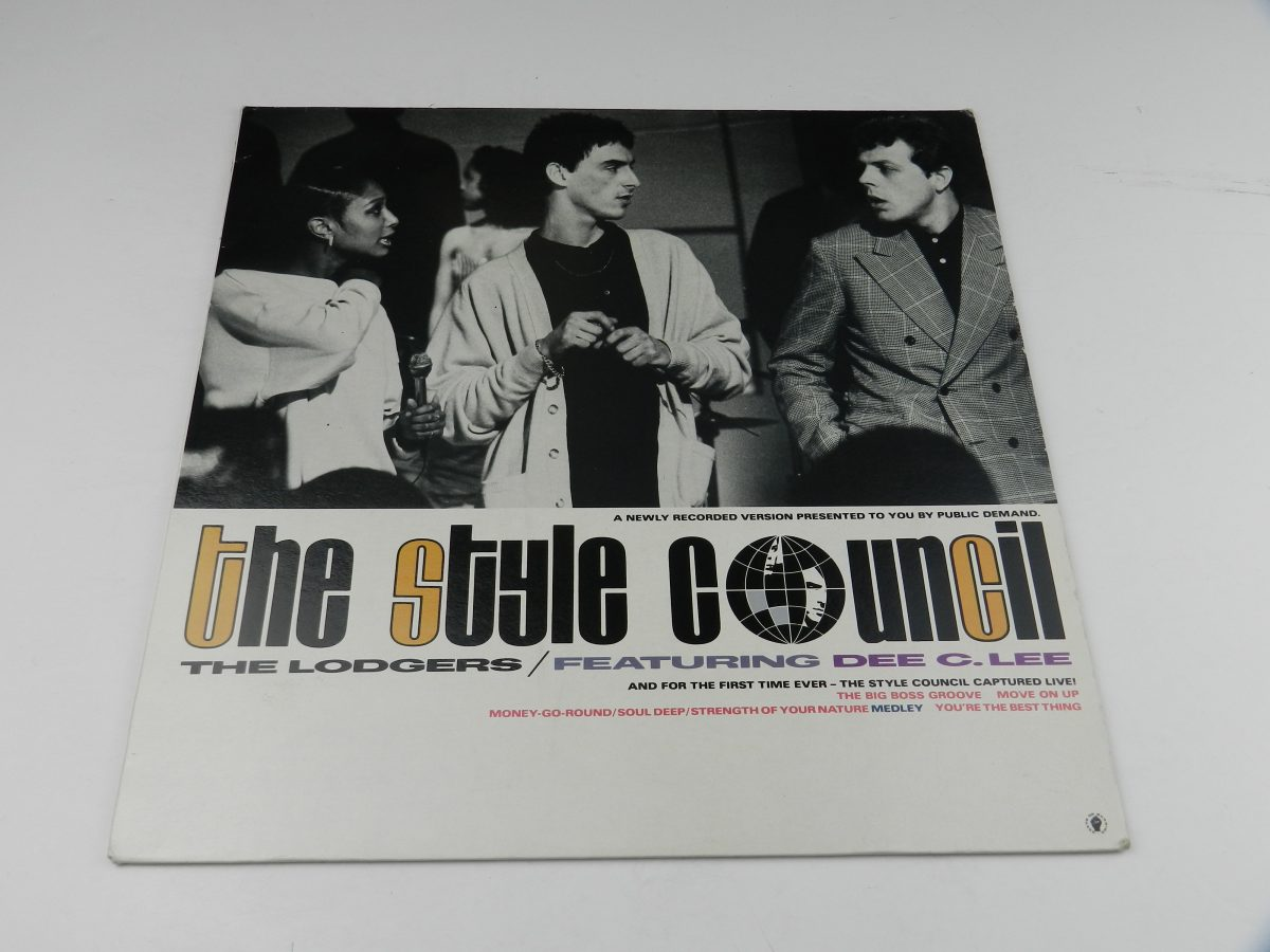 The Style Council Featuring Dee C. Lee – The Lodgers vinyl record sleeve scaled
