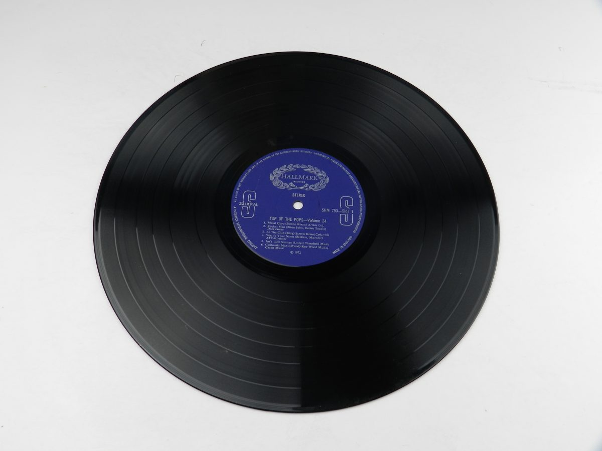 The Top Of The Poppers – Top Of The Pops Vol. 24 vinyl record side A scaled