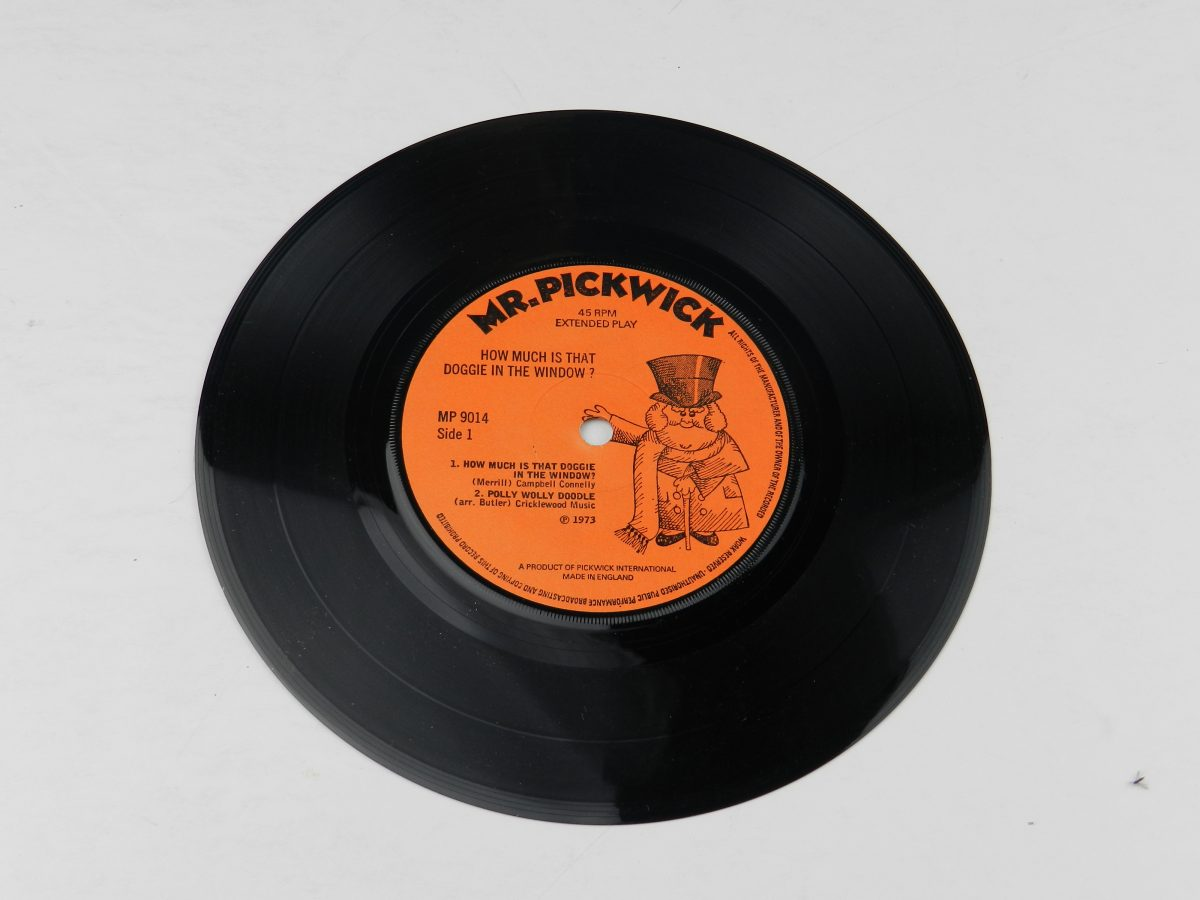Unknown Artist – How Much Is That Doggy In The Window vinyl record side A scaled